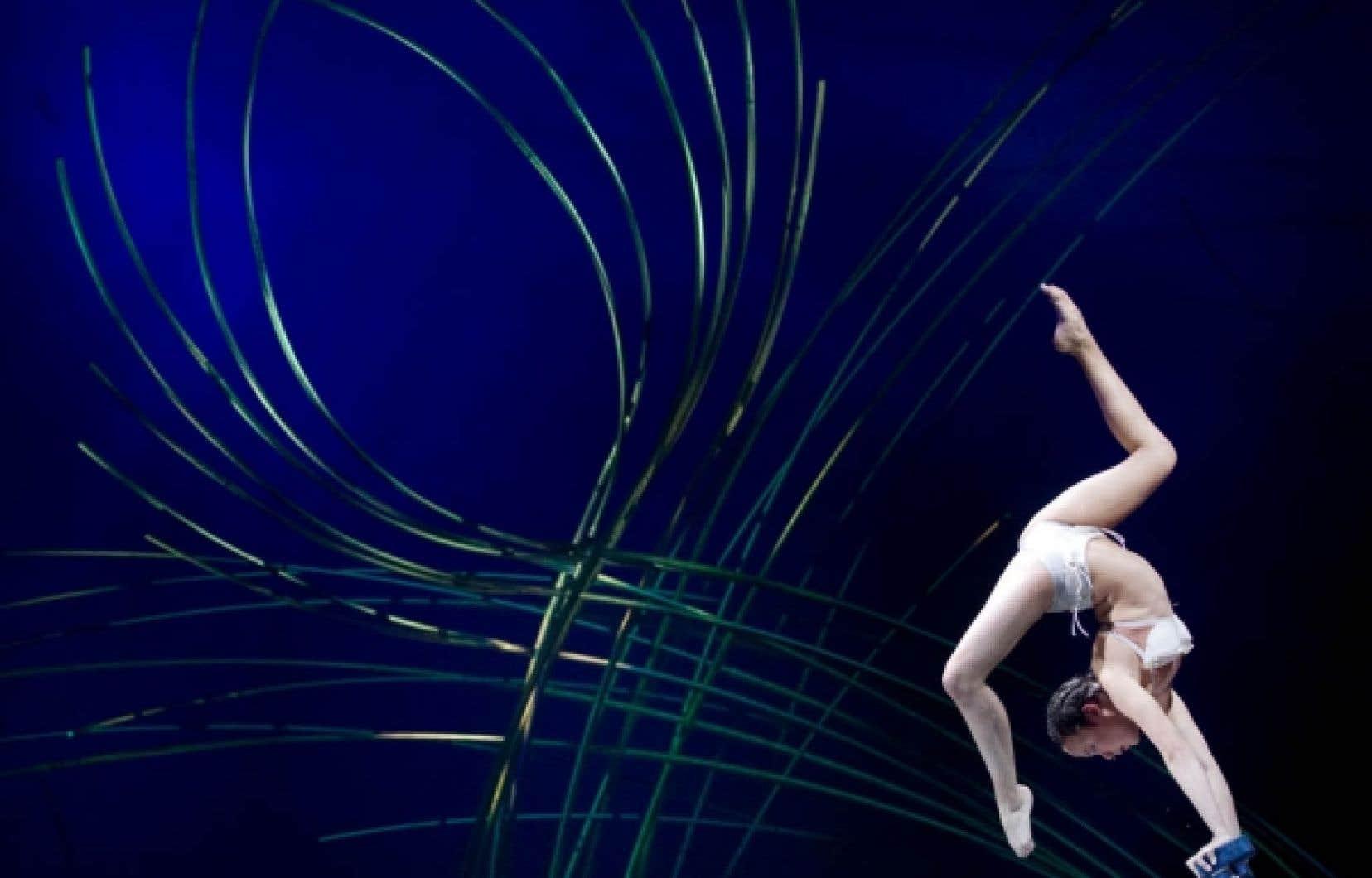 Amaluna, le nouveau spectacle du Cirque du Soleil