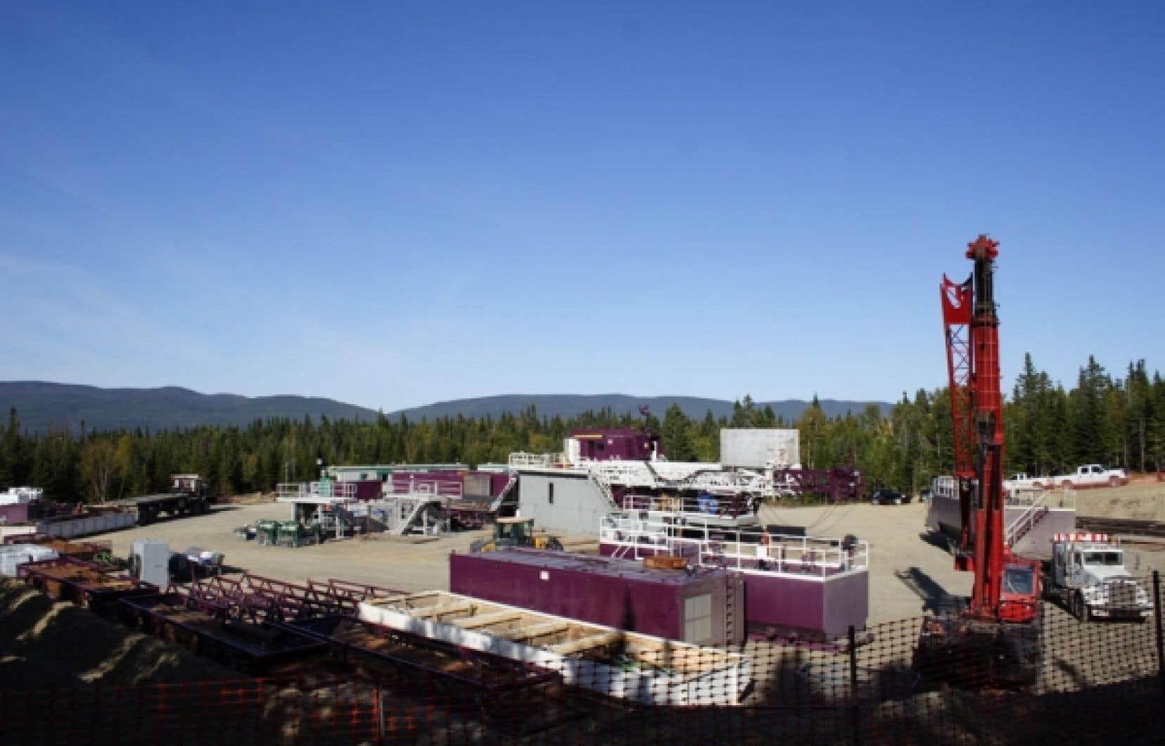 Pétrolia, qui mène des travaux d'exploration pétrolière dans la région de Gaspé, a déjà évoqué la possibilité d'utiliser la fracturation, ce qui serait une première dans la province. Mais l'entreprise a plutôt mené l'automne dernier deux «tests d'injectivité», dont un sur ce puits nommé Haldimand no 1.<br />