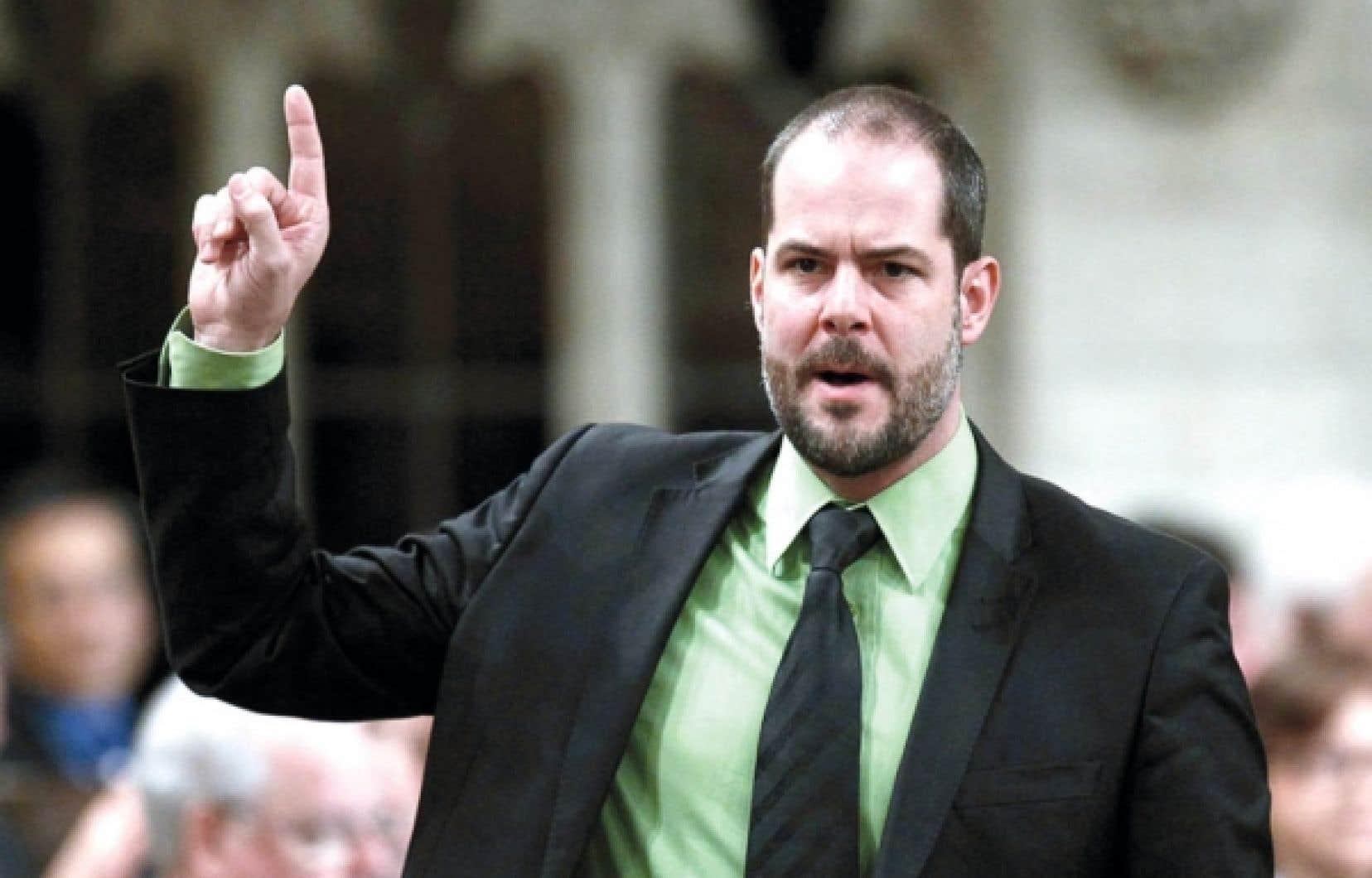 Le député néodémocrate Alexandre Boulerice<br />