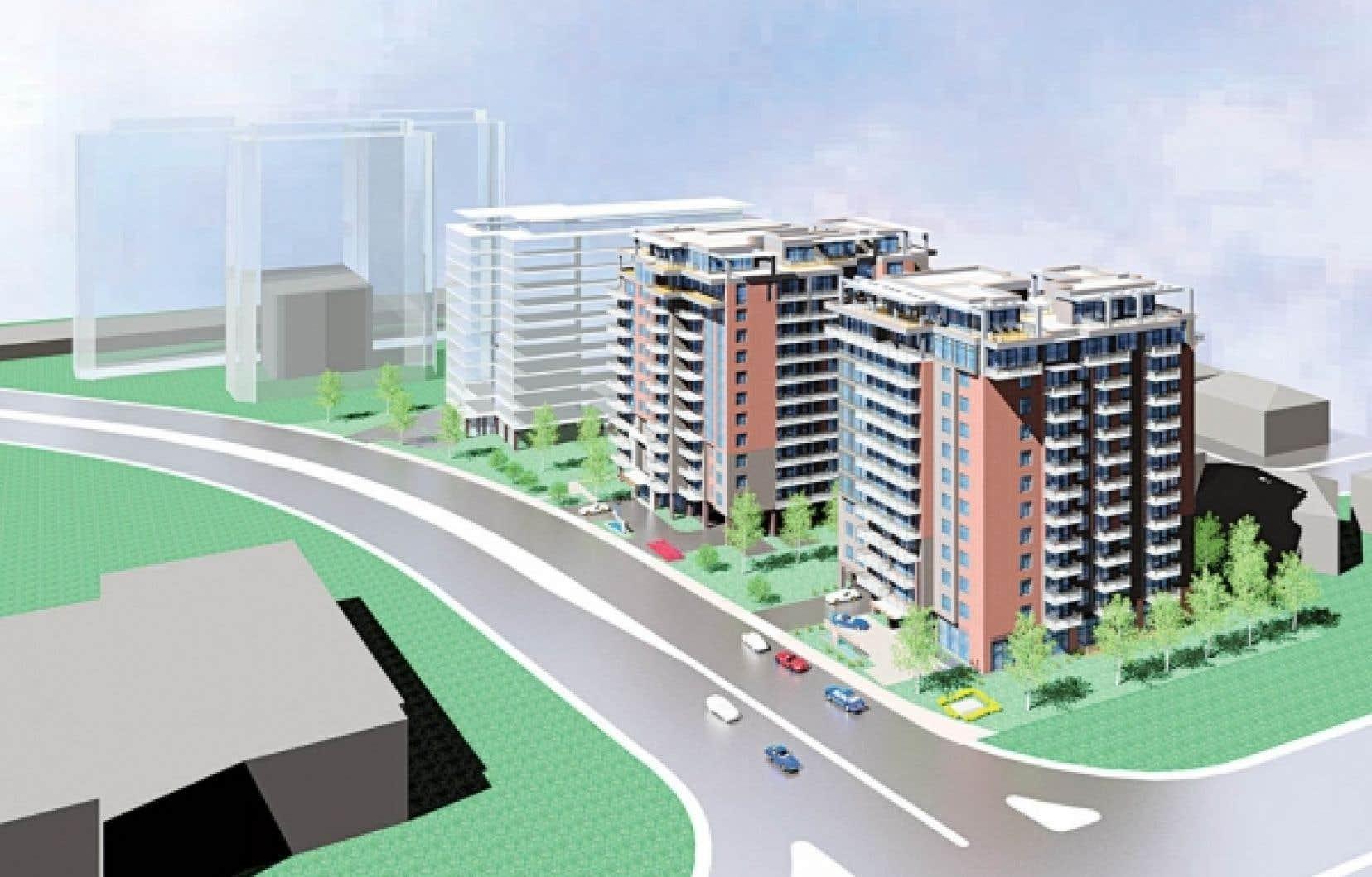 <div> C&rsquo;est une petite ville d&rsquo;un millier d&rsquo;habitants et de 365 logements qui fera son apparition dans le secteur du parc Angrignon, dans l&rsquo;arrondissement LaSalle.</div>