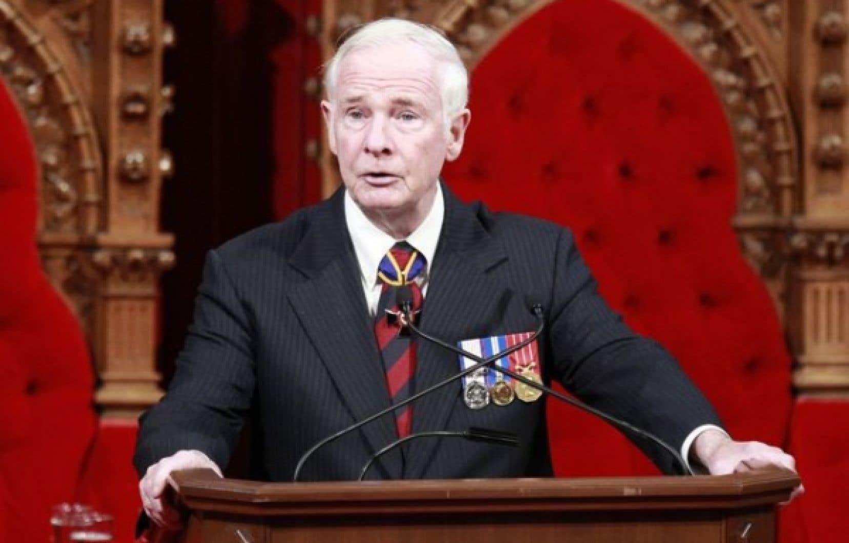 Ottawa a décidé de doublerle salairedu gouverneur général, David Johnston.