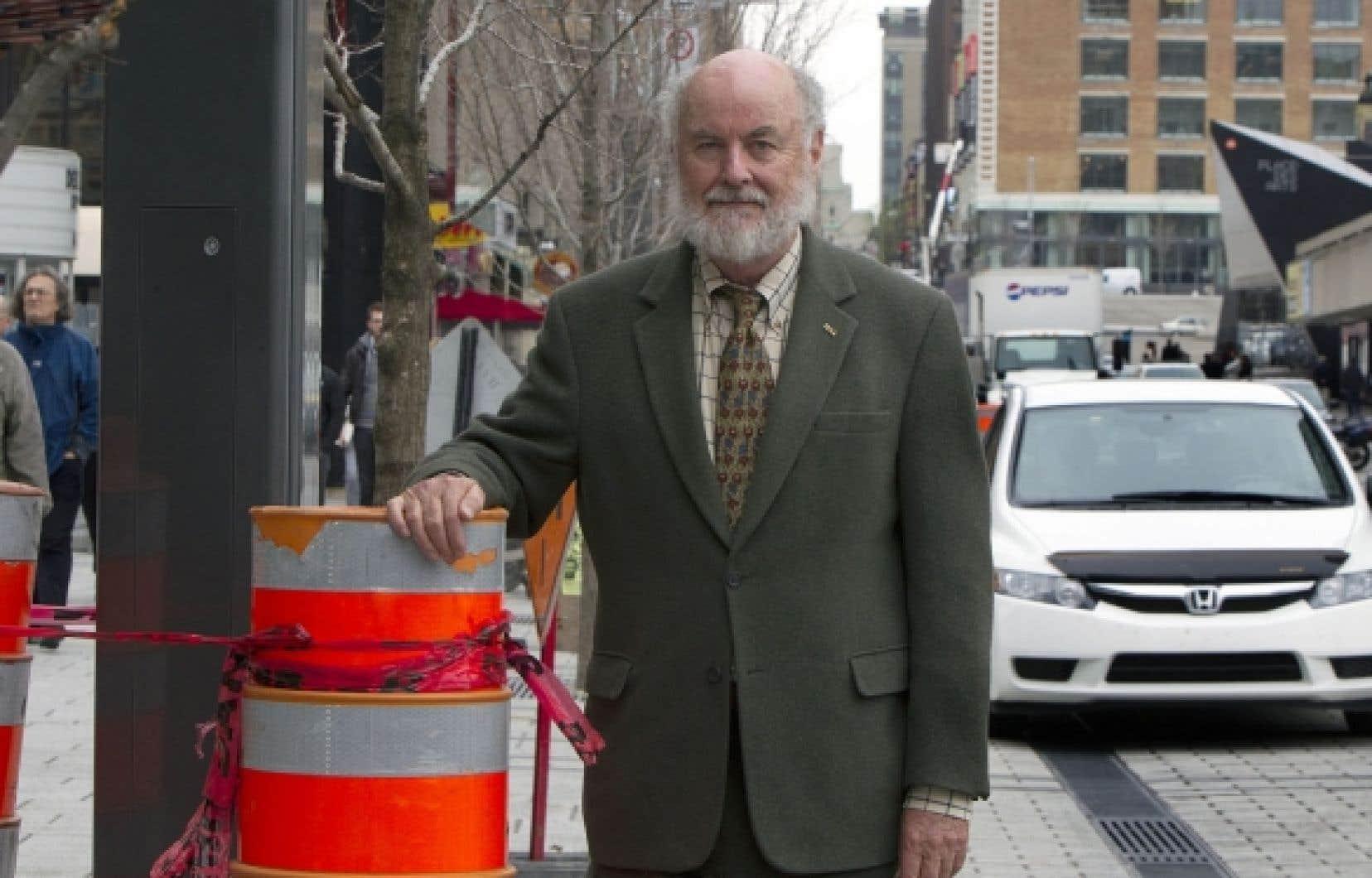 Donald Shoup, professeur en urbanisme, s'est spécialisé dans l'étude du stationnement.