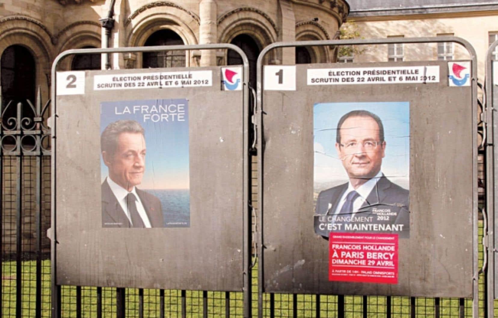 Le président français, qui sera élu demain, devra s'attaquer en priorité à l'économie.
