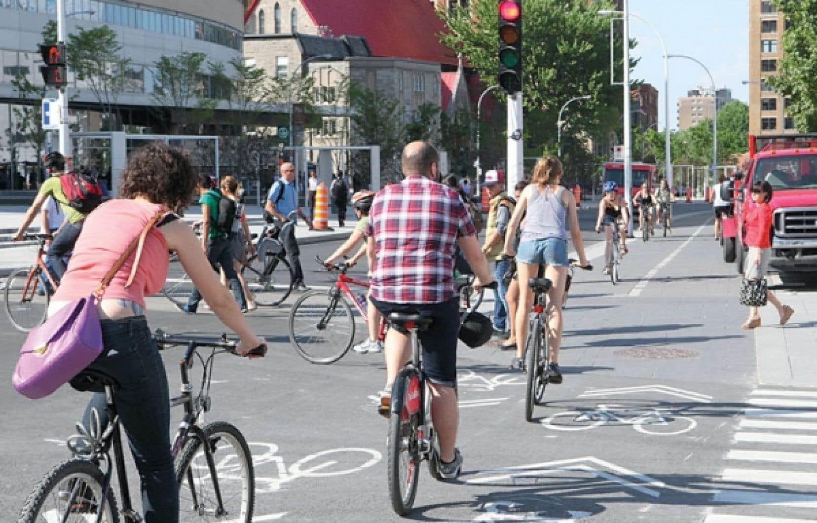 Les cyclistes verront leur réseau s'agrandir cette année.