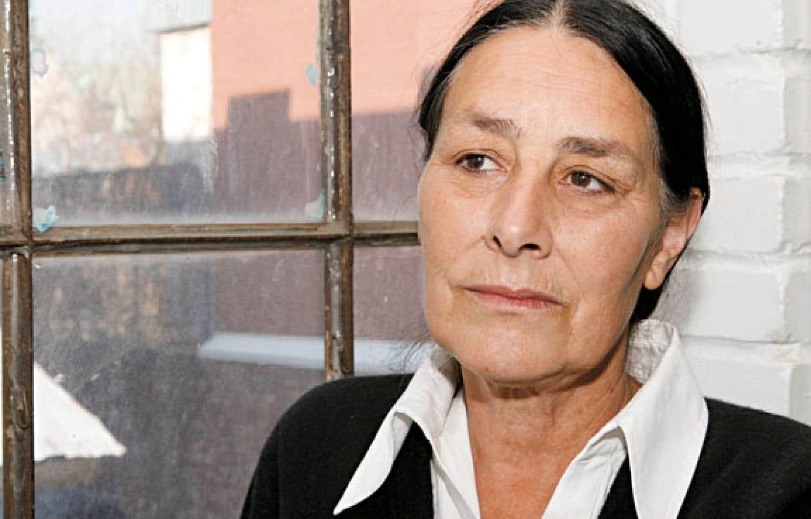 La dramaturge Suzanne Lebeau