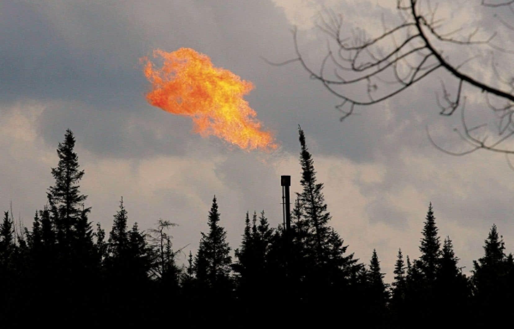 Plusieurs entreprises gazières convoitent les ressources de gaz de schiste de la vallée du Saint-Laurent.