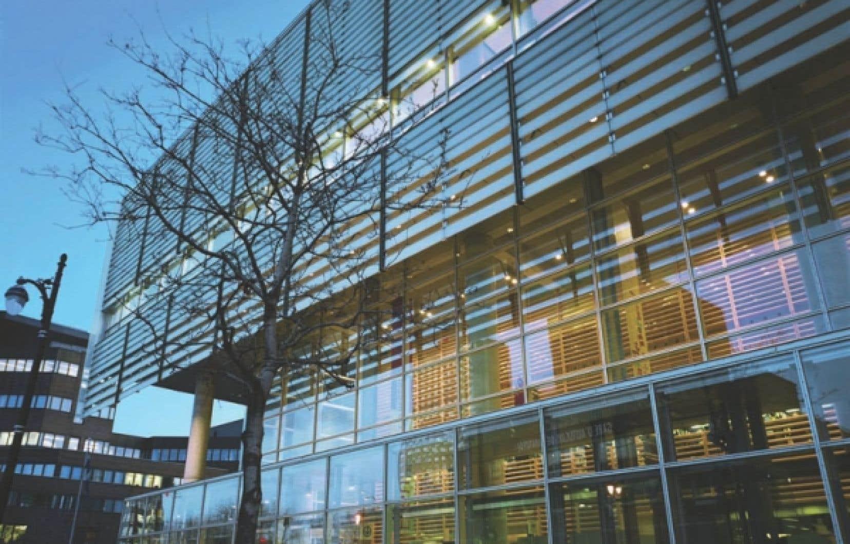 La Grande Bibliothèque, à Montréal
