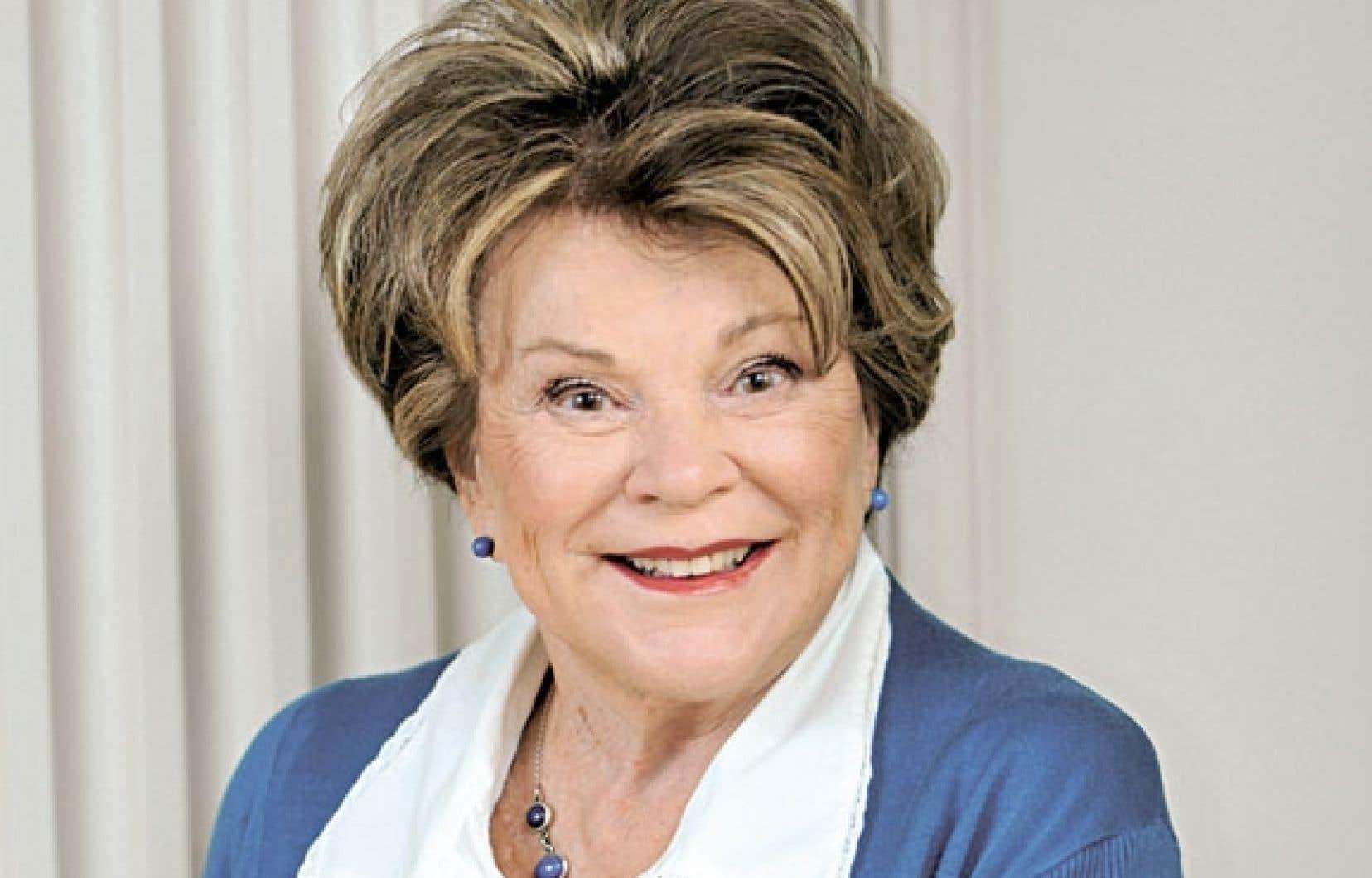 Janette Bertrand, 87 ans, publie Lit double, son troisième roman en cinq ans.