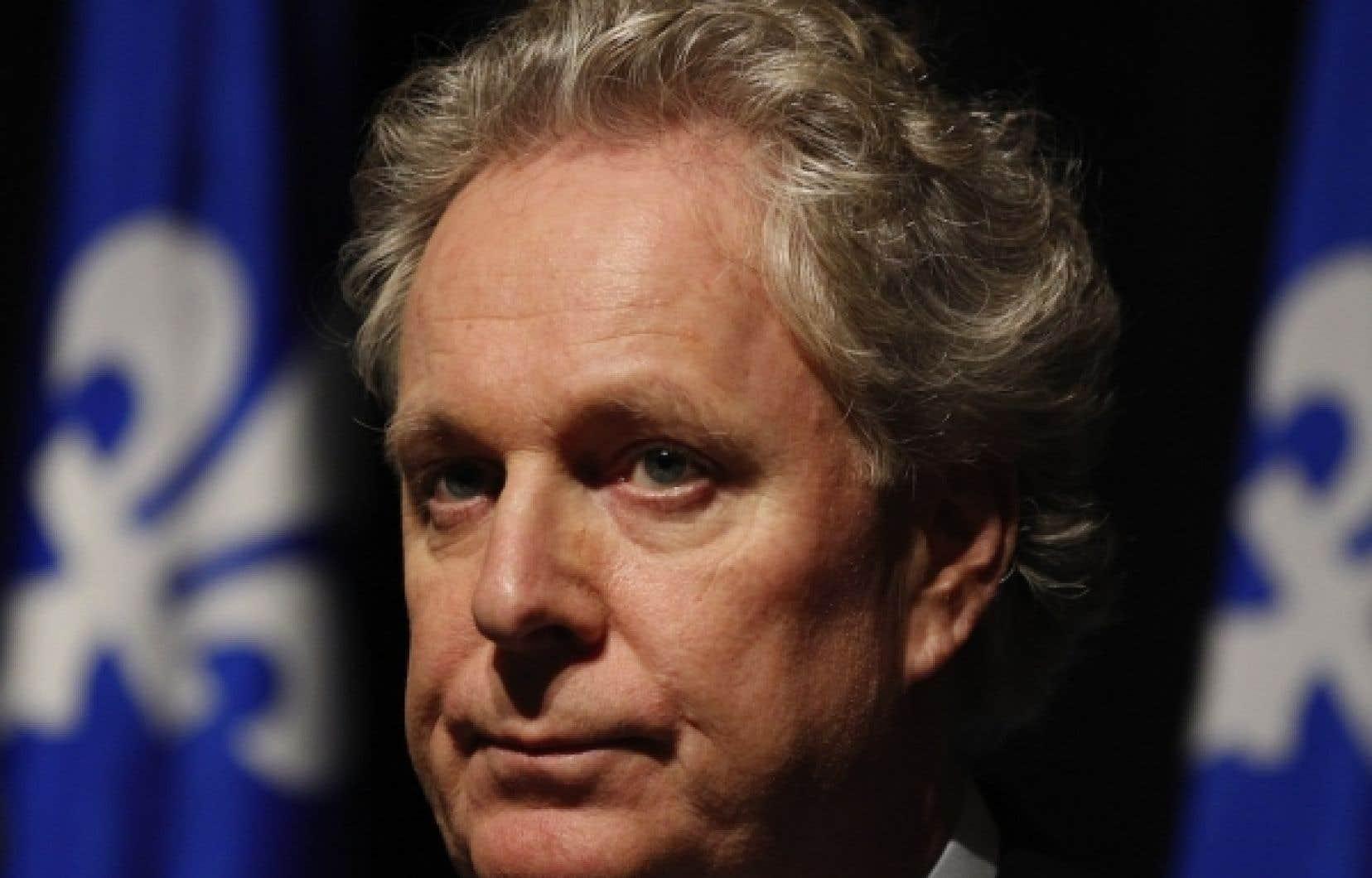Jean Charest a perdu aujourd'hui son directeur de cabinet, Luc Bastien