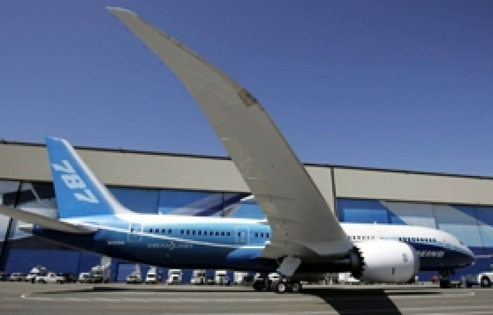 Le constructeur Boeing se dit particulièrement satisfait du décollage commercial de son dernier-né, le 787 Dreamliner. Depuis son lancement commercial, en 2004, cet appareil s'est vendu à 817 exemplaires.