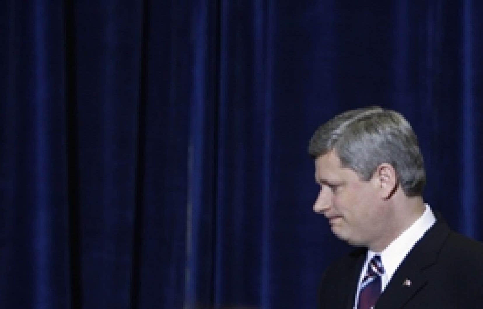 Stephen Harper: confiant, malgré tout, à l'approche d'une campagne électorale.