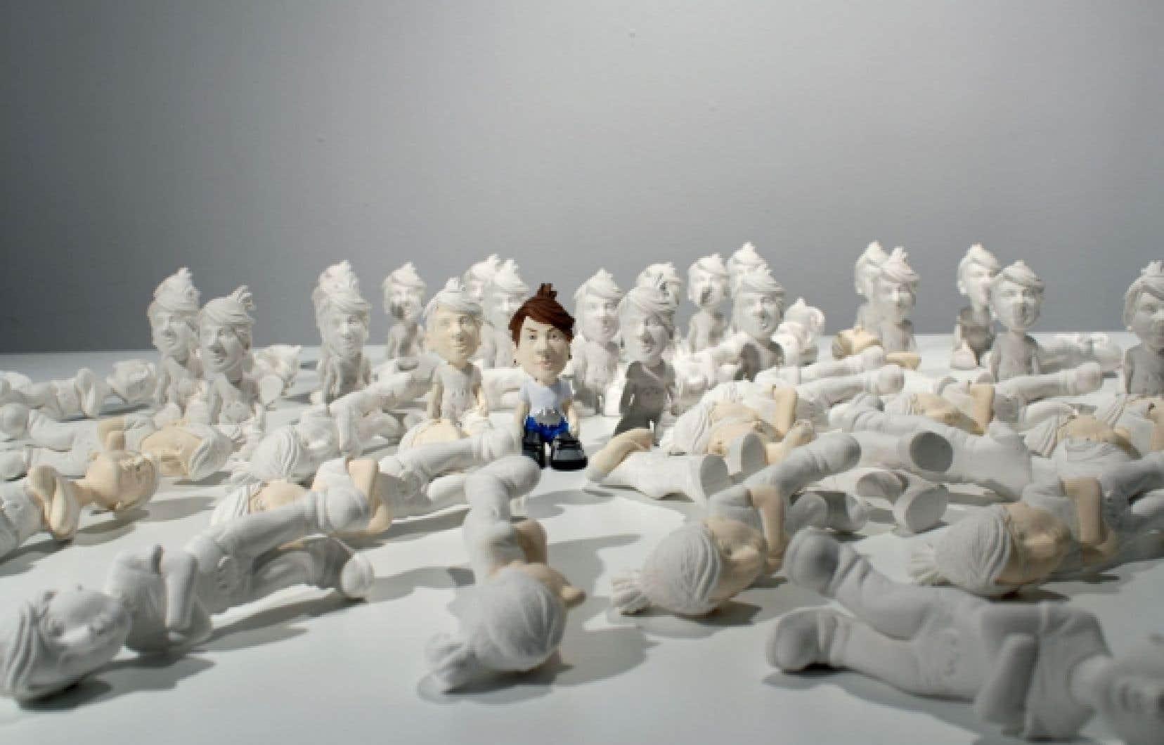 Marie-Pier Théberge, Figurines deux point zéro Artisme, 2012