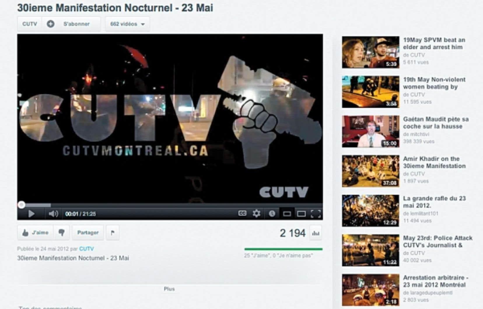 <div> Malgré la controverse qui l'entoure, CUTV est probablement le média communautaire qui a bénéficié de la plus grande visibilité depuis le début du conflit. Ses images ont été réutilisées — souvent sans crédit ni rémunération — par des chaînes comme CBC, CTV, TVA, LCN, Al-Jazeera et CNN.</div>