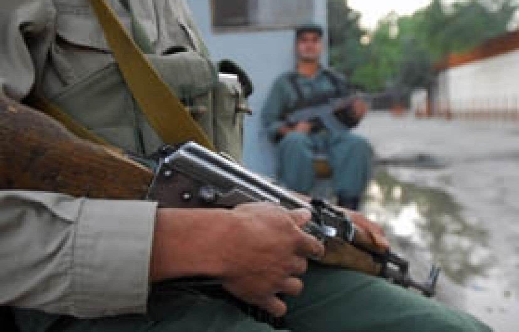 Renforcer l'armée afghane est considéré comme un point crucial de la stratégie de sortie de l'armée canadienne d'Afghanistan.