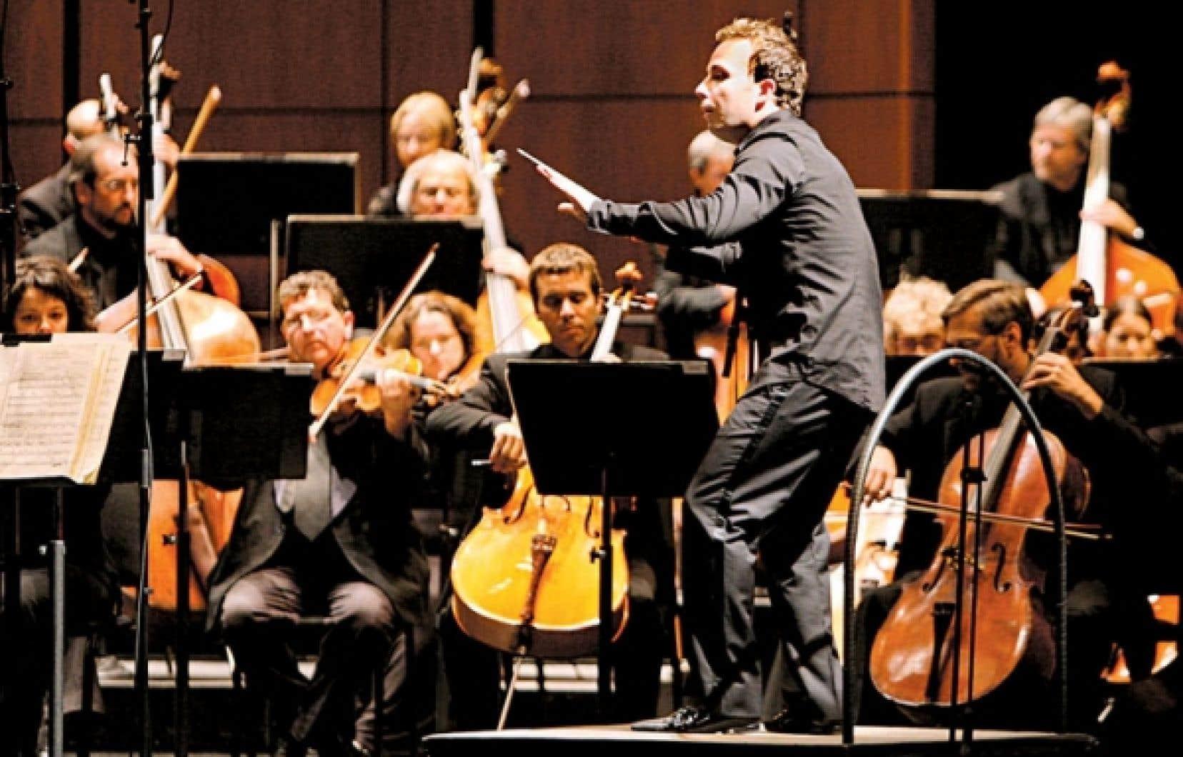 Yannick Nézet-Séguin dirige l'Orchestre métropolitain à la Maison symphonique ce week-end.
