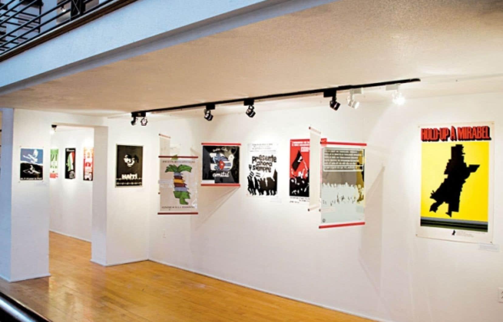 Les affiches du collectionneur François-Guy Touchette témoignent des grands mouvements sociaux du Québec des dernières décennies.