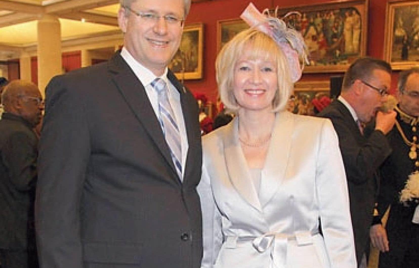 L'épouse de Stephen Harper, Laureen, est active dans le milieu de la protection des animaux.
