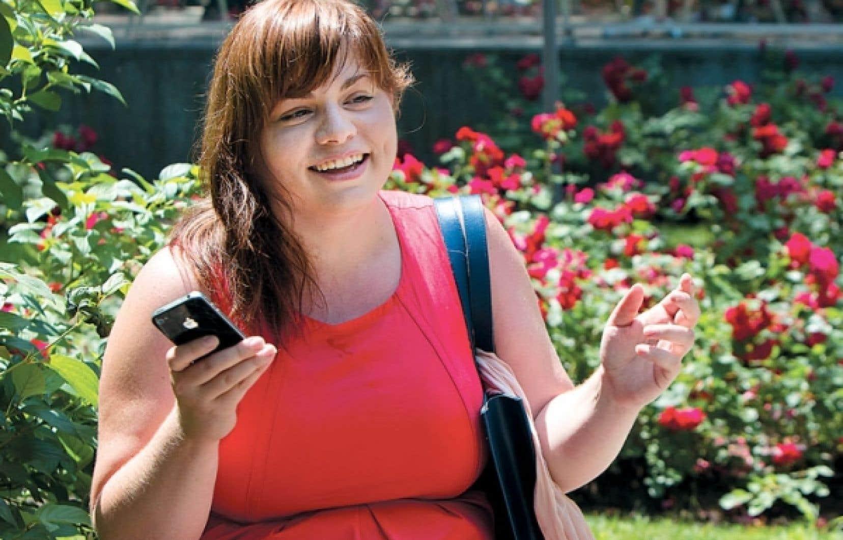 <div> Marie-Andr&eacute;e Larivi&egrave;re: &laquo;Twiter est un outil qui permet d&rsquo;exprimer l&rsquo;instant.&raquo;</div>