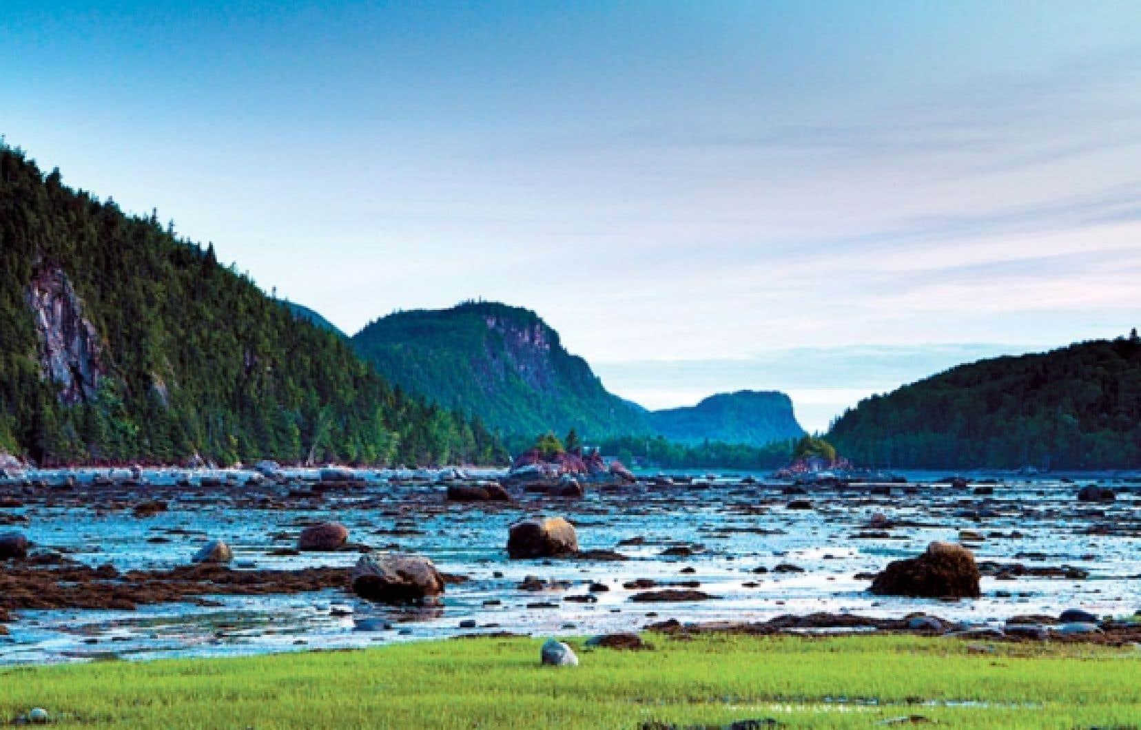 D'une superficie d'à peine 33 kilomètres carrés, le Parc national du Bic a été créé en 1984.