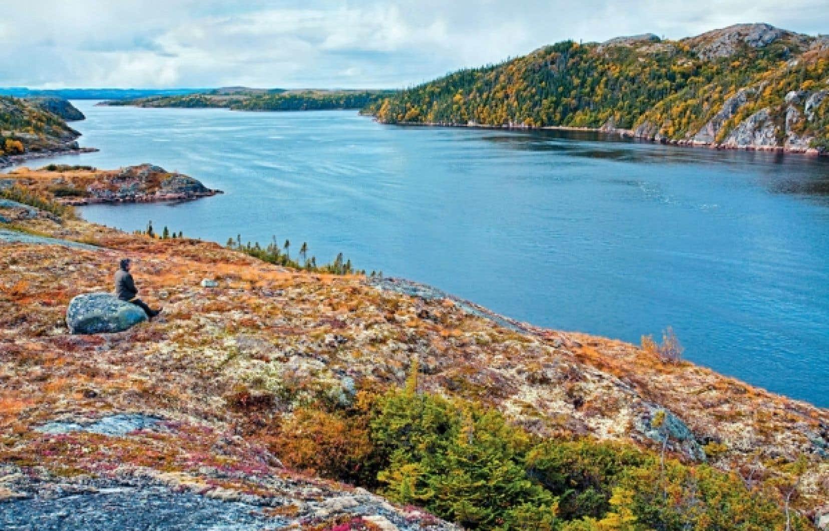 L'île d'Anticosti est reconnue pour sa flore, sa faune et ses rivières à saumon.