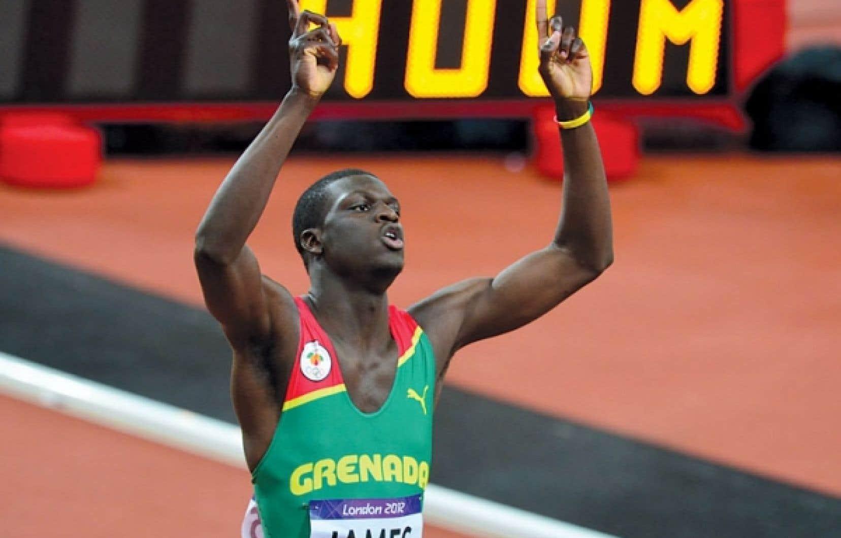 <div> Le Grenadien Kirani James a négocié la distance de 400 m en 43,94 s, devançant Luguelin Santos (44,46), de la République dominicaine, et Lalonde Gordon (44,52), de Trinité-et-Tobago.</div>