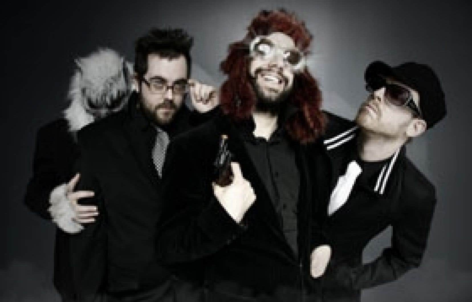 Ce soir, le quatuor Gatineau sera à Québec, au Cercle, puis demain à Montréal, au Cabaret du Musée Juste pour rire. Photo: C4