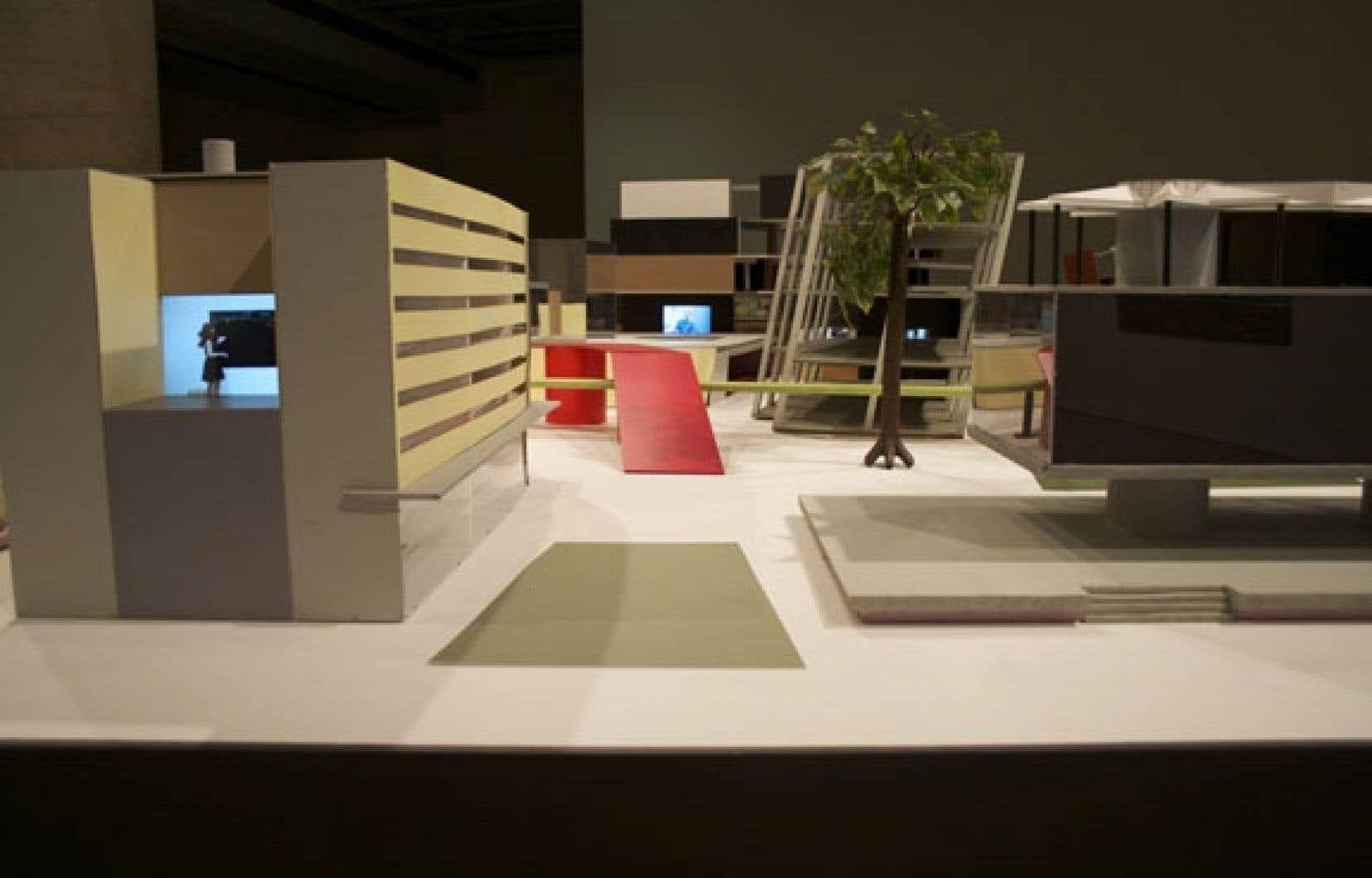<div> L'installation de Stéphane Gilot, Multiversité/Métacampus, porte à réfléchir sur l'institution universitaire.</div>