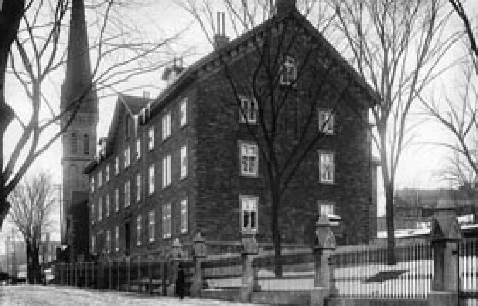 St. Bridget's Refuge, Montréal, Québec, vers 1896.