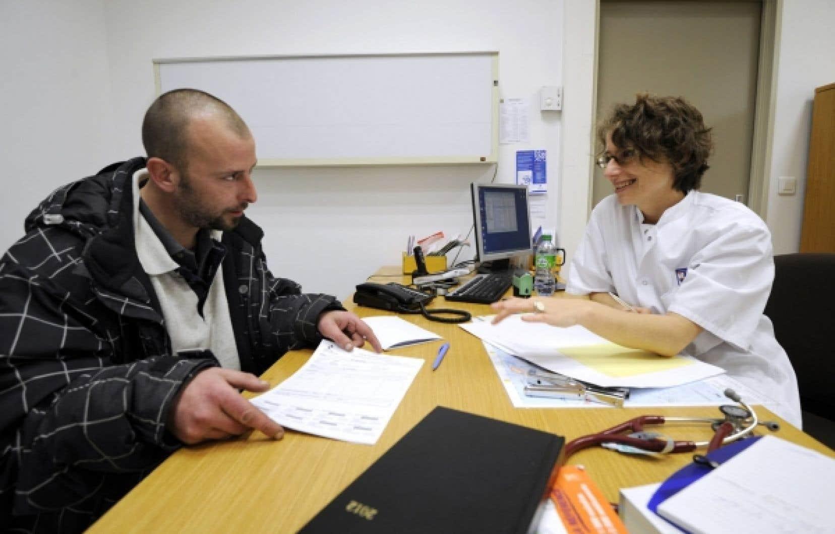 Il peut être difficile pour les personnes analphabètes de se retrouver dans le système de santé.