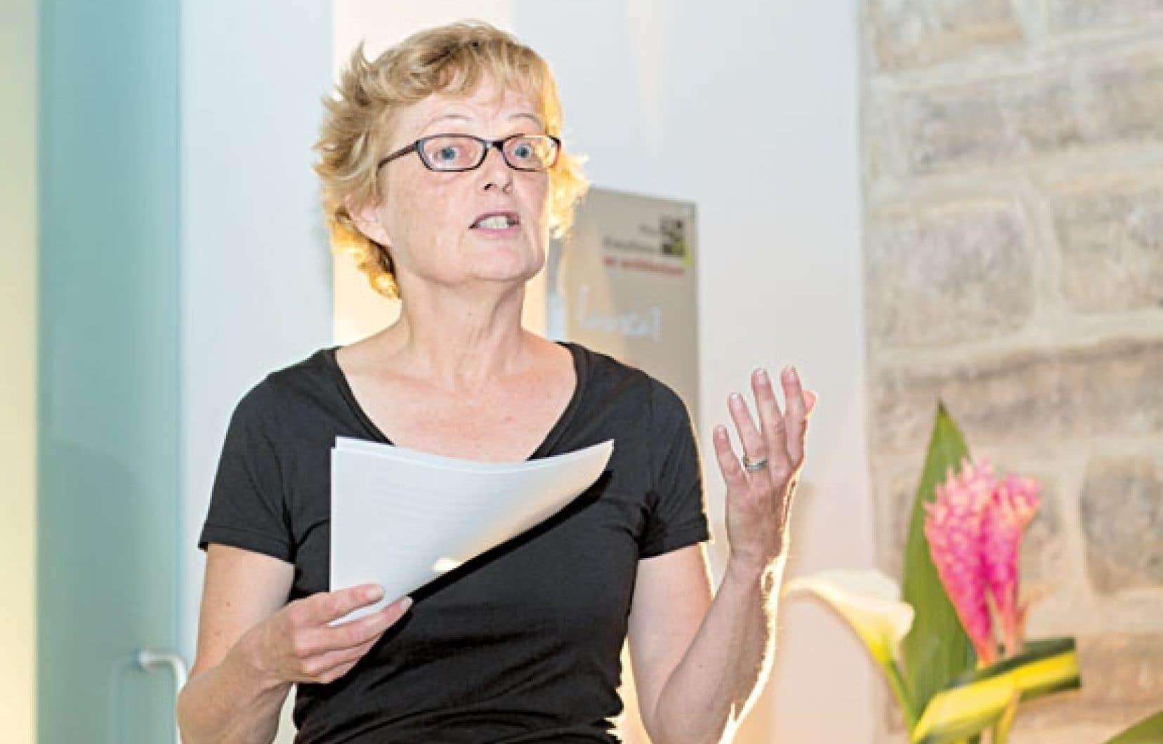 Nicole Gingras sera à la barre de la Biennale de Montréal.