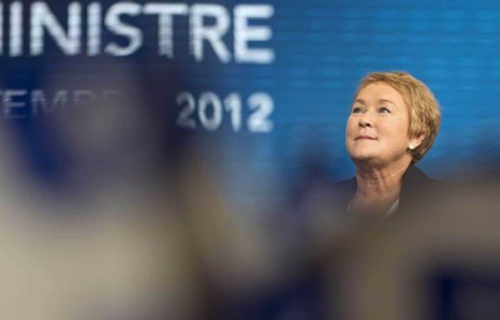 «Une page d'histoire s'ouvre pour le Québec. Pour la première fois, le gouvernement du Québec sera dirigé par une femme», a déclaré Pauline Marois dans son allocution en fin de soirée mardi. <br />