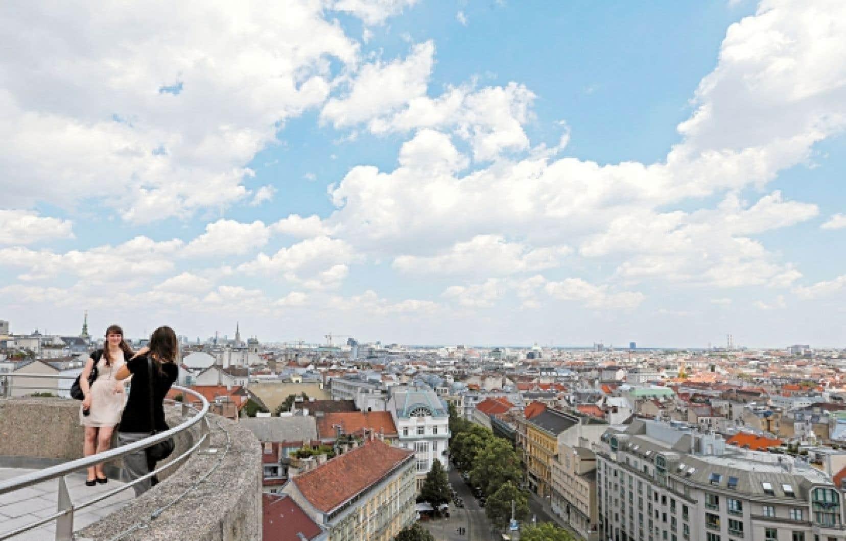 Une vue de Vienne, en Autriche.