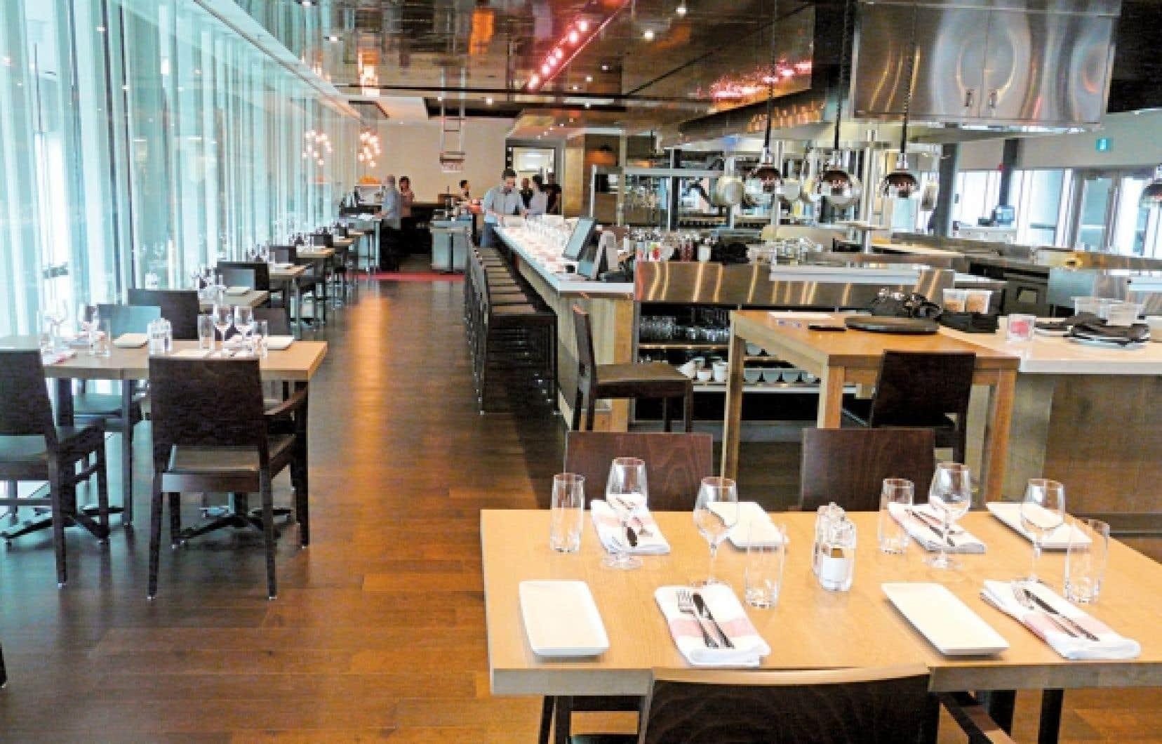 Les Labours, c'est le nouveau restaurant du tout aussi nouvel hôtel La Ferme, qui a été officiellement inauguré jeudi dans le cadre du grand projet récréotouristique du Massif de Charlevoix.