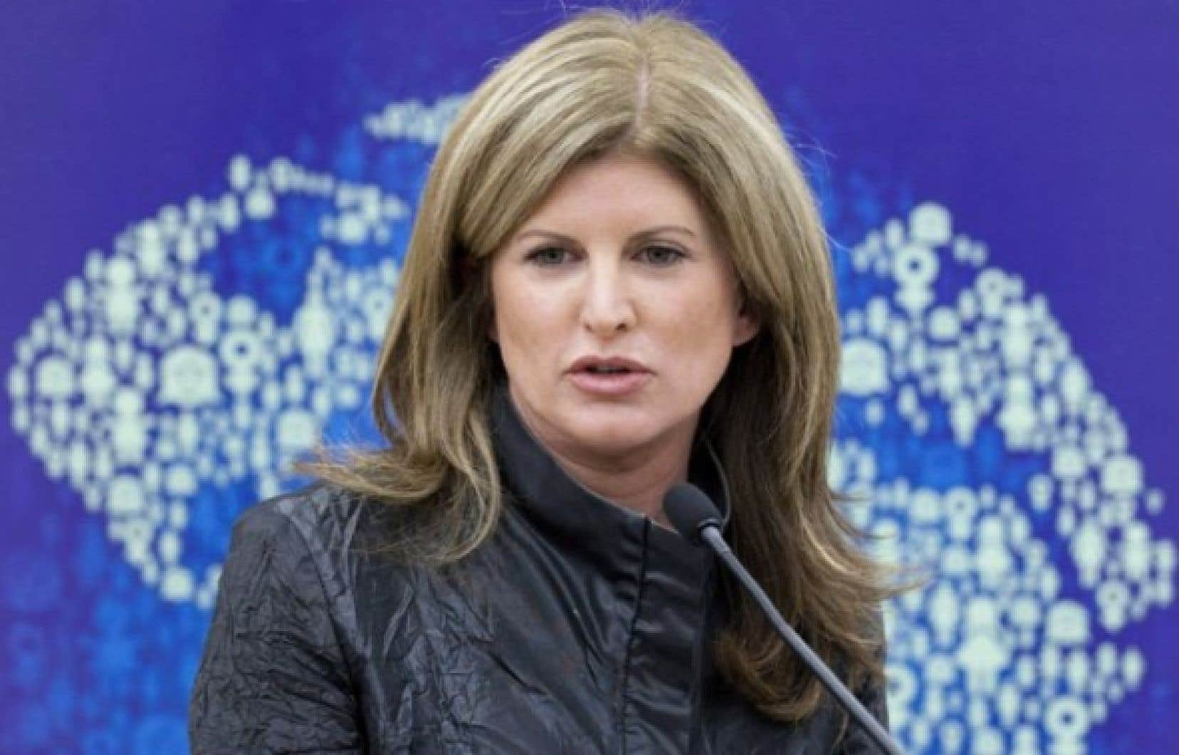 Rona Ambrose (photo d&#39;archives)<br />