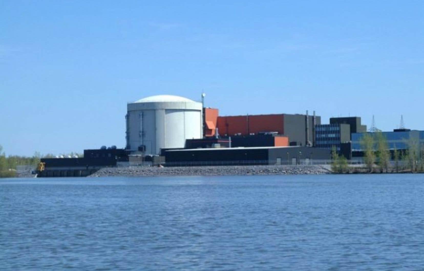 La centrale Gentilly-2.