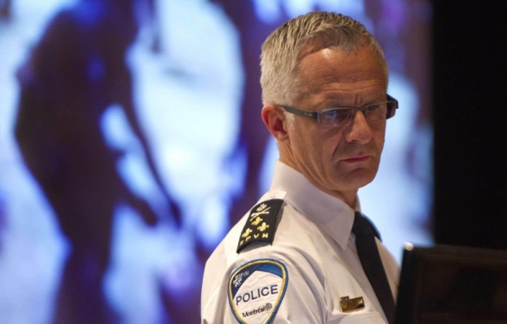 Le chef du SPVM, Marc Parent, a qualifié l'incident avec l'agente 728 de troublant et d'inacceptable, qui n'a rien à voir avec les valeurs préconisées par le SPVM.