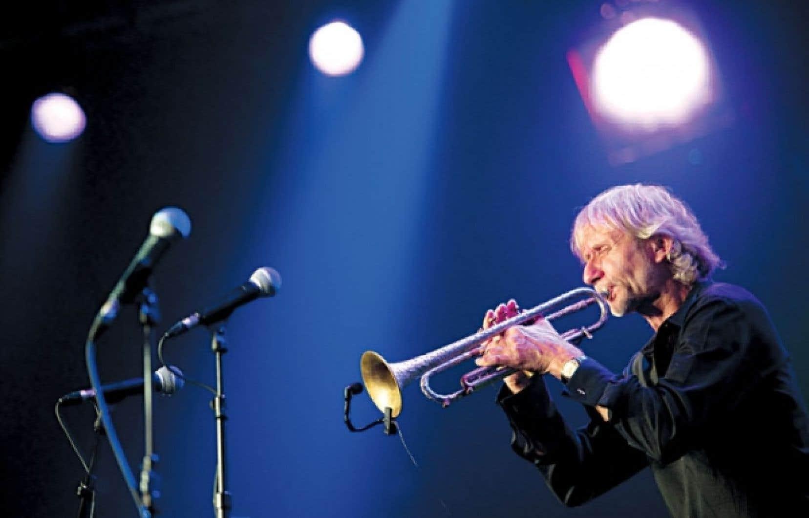 <div> Erik Truffaz au Festival de Montreux en 2011.&nbsp;</div>