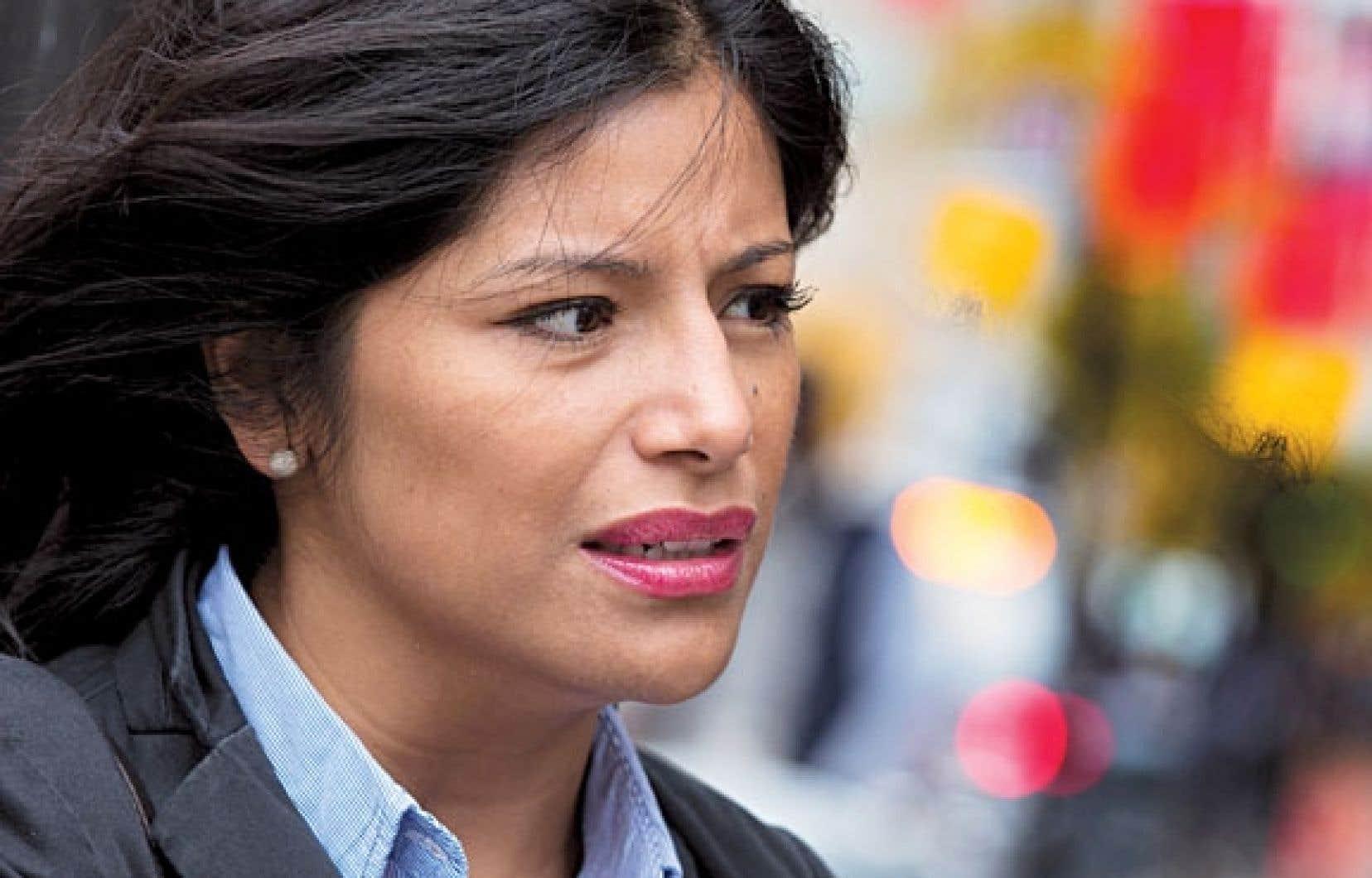 Karen Molina ne comprend toujours pas les raisons de son arrestation pour entrave au travail des policiers.