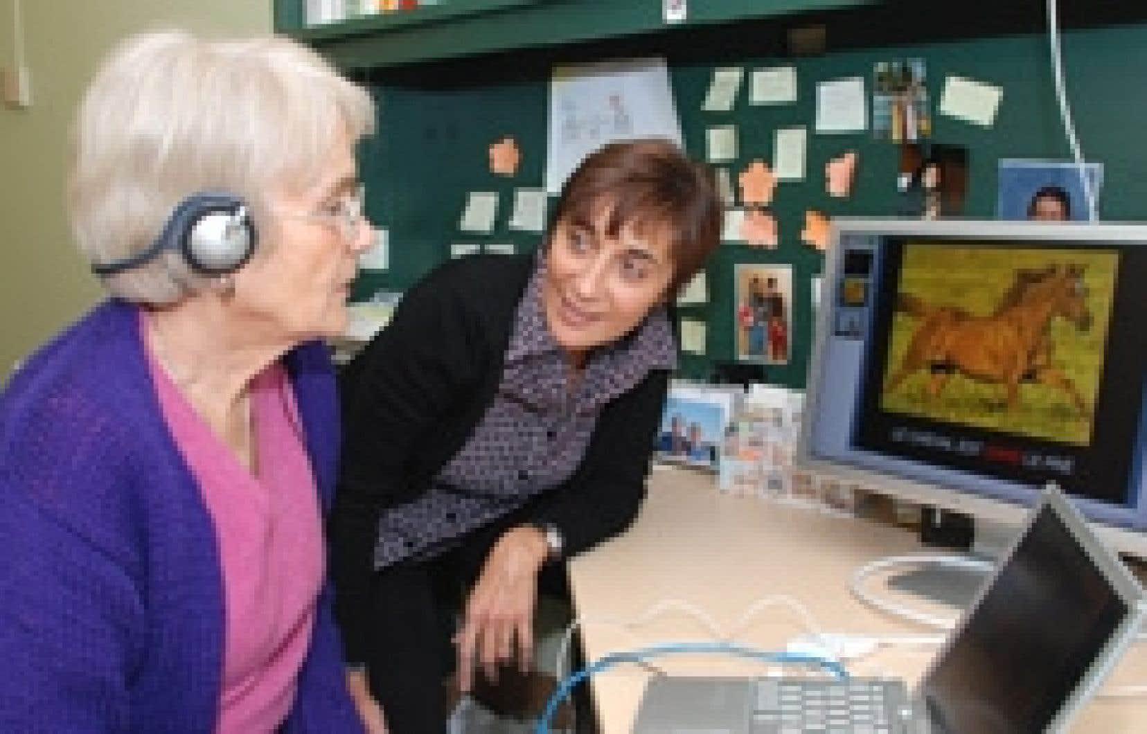La Dre Ana Ines Ansaldo mène une étude sur l'apprentissage d'une langue seconde dans laquelle elle compare de jeunes adultes autour de la vingtaine à des personnes âgées de plus de 65 ans.