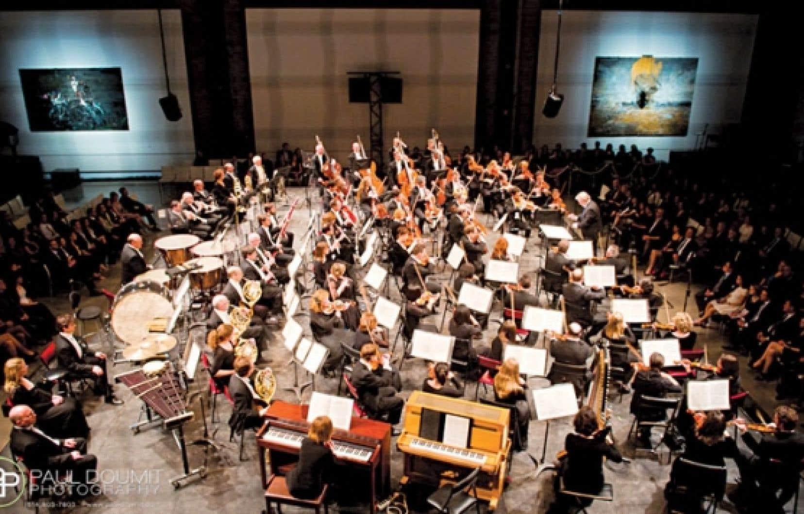 Le Club des jeunes ambassadeurs de l'OSM a rapproché arts visuels et musique classique lors d'une soirée au centre d'art l'Arsenal, en mars dernier.