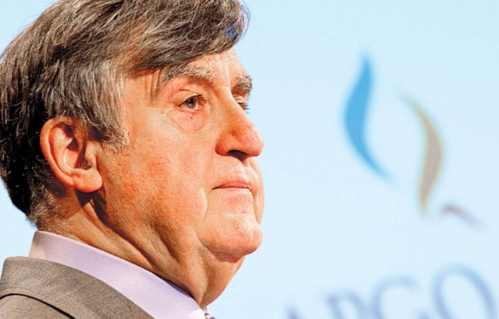 Le président de l'Association pétrolière et gazière du Québec, Lucien Bouchard, juge sévèrement ceux qui refusent de laisser se développer les filières énergétiques dont il est le défenseur.