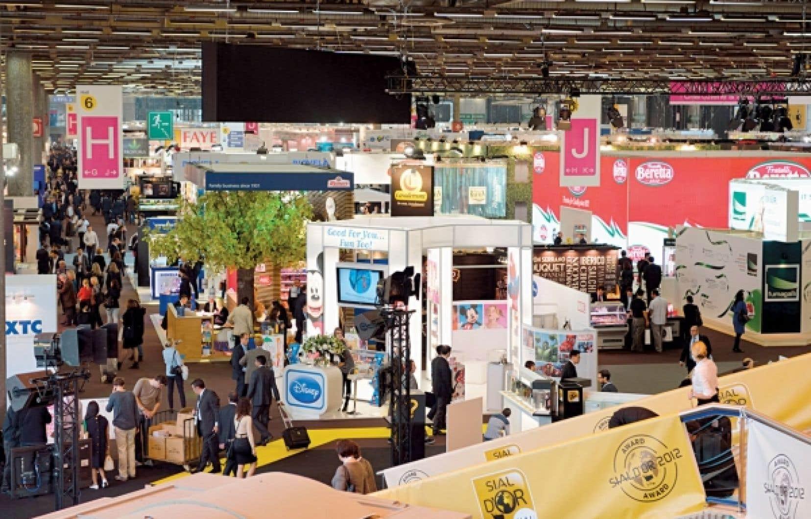 Le Salon international de l'alimentation est considéré comme le plus grand rassemblement alimentaire du monde.