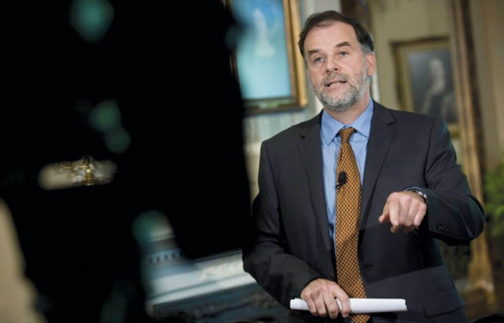 Le ministre Pierre Duchesne qualifie l'étude d'«intéressante».