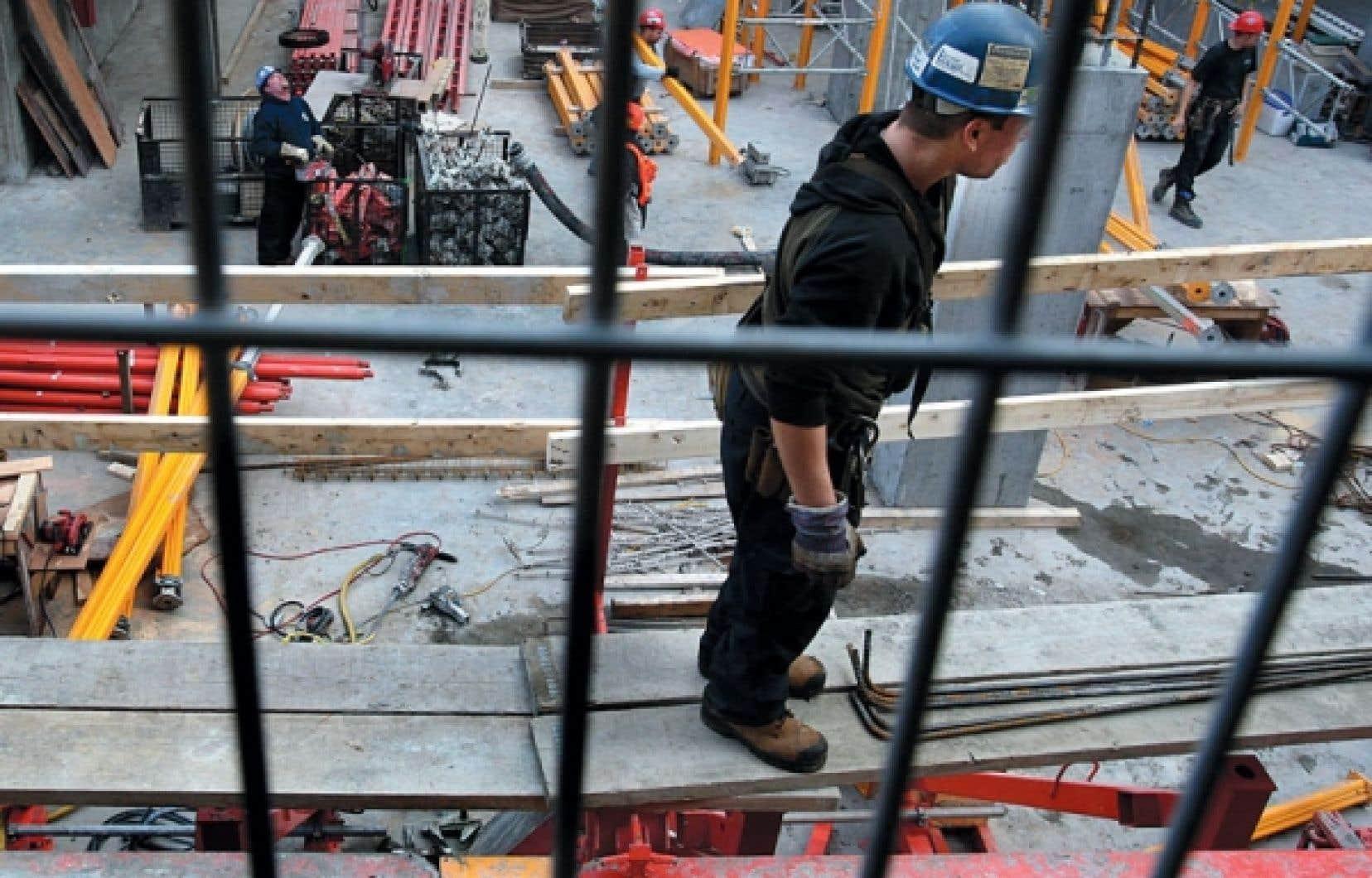 Les femmes représentent à peine 1,3 % des 159 166 travailleurs en construction au Québec.