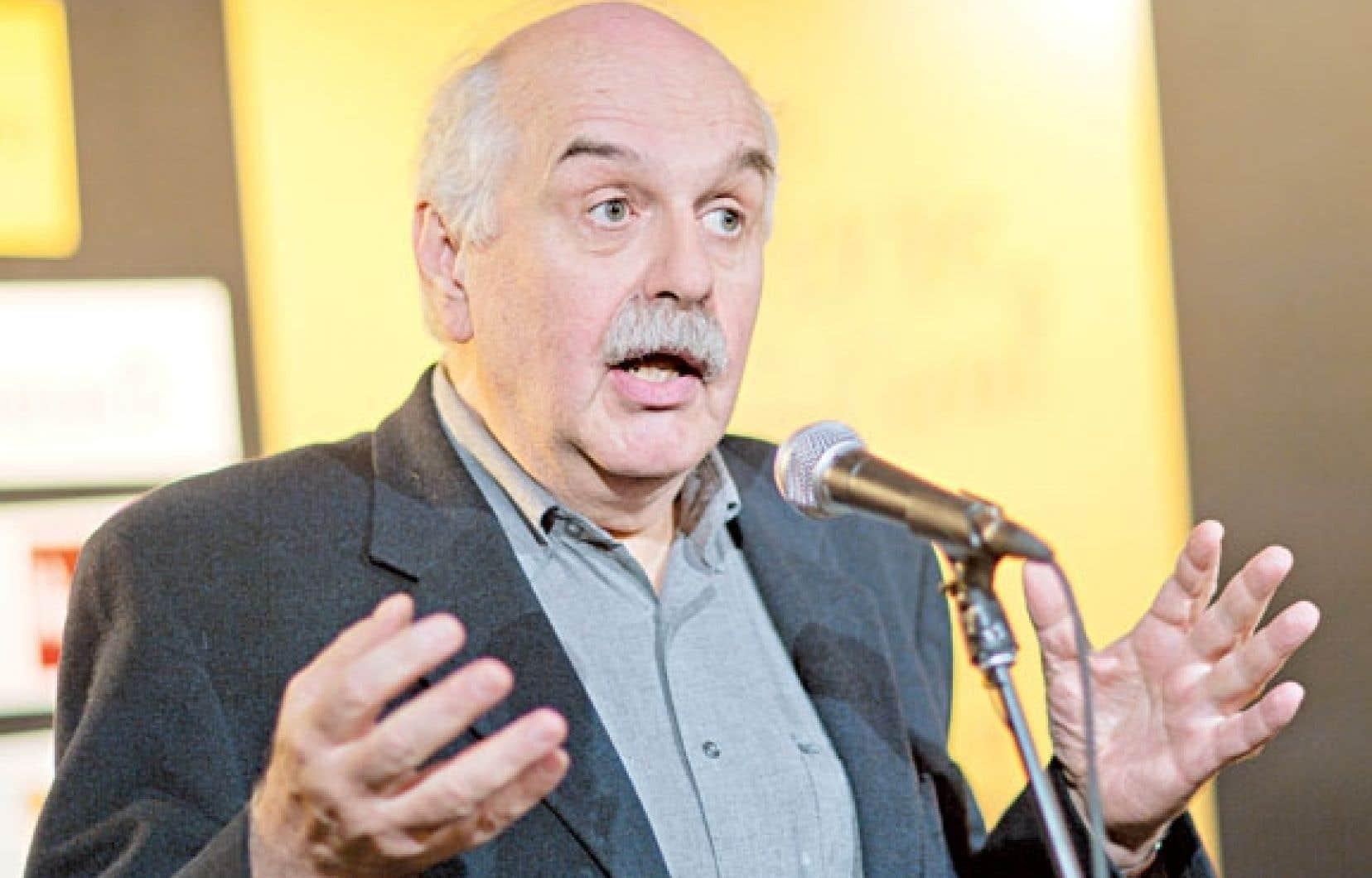 Le philosophe Georges Leroux est un des neuf écrivains à l'honneur du 35e Salon du livre de Montréal.