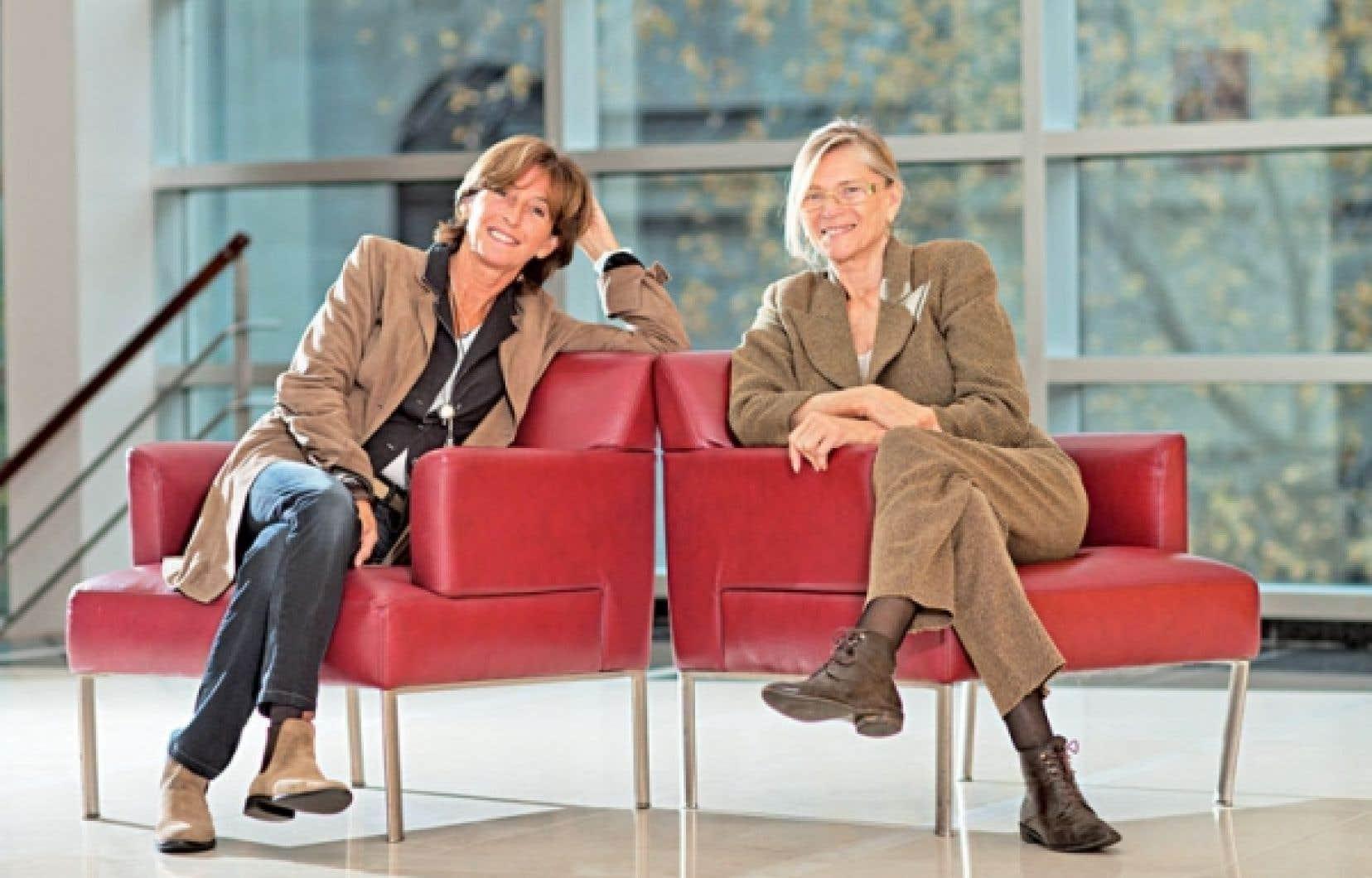 Natalie Carter et Annie Miller sont à Montréal dans le cadre de Cinemania. Elles seront à la projection du dernier film de Claude Miller, Thérèse Desqueyroux.
