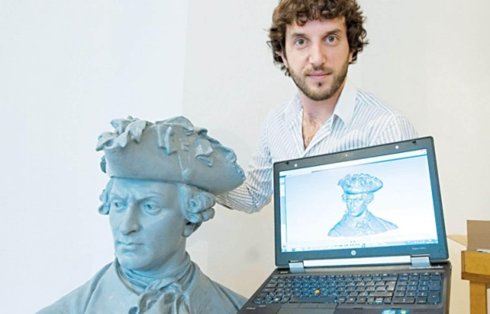 Charles-Olivier Roy et son projet de numérisation de François-Gaston de Lévis, ce chef militaire qui a pris le commandement de l'armée française à la mort de Montcalm.