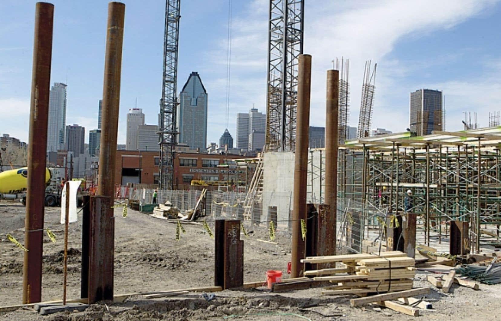 Griffintown, dont le sous-sol est riche d'histoire, connaît un important boom immobilier.