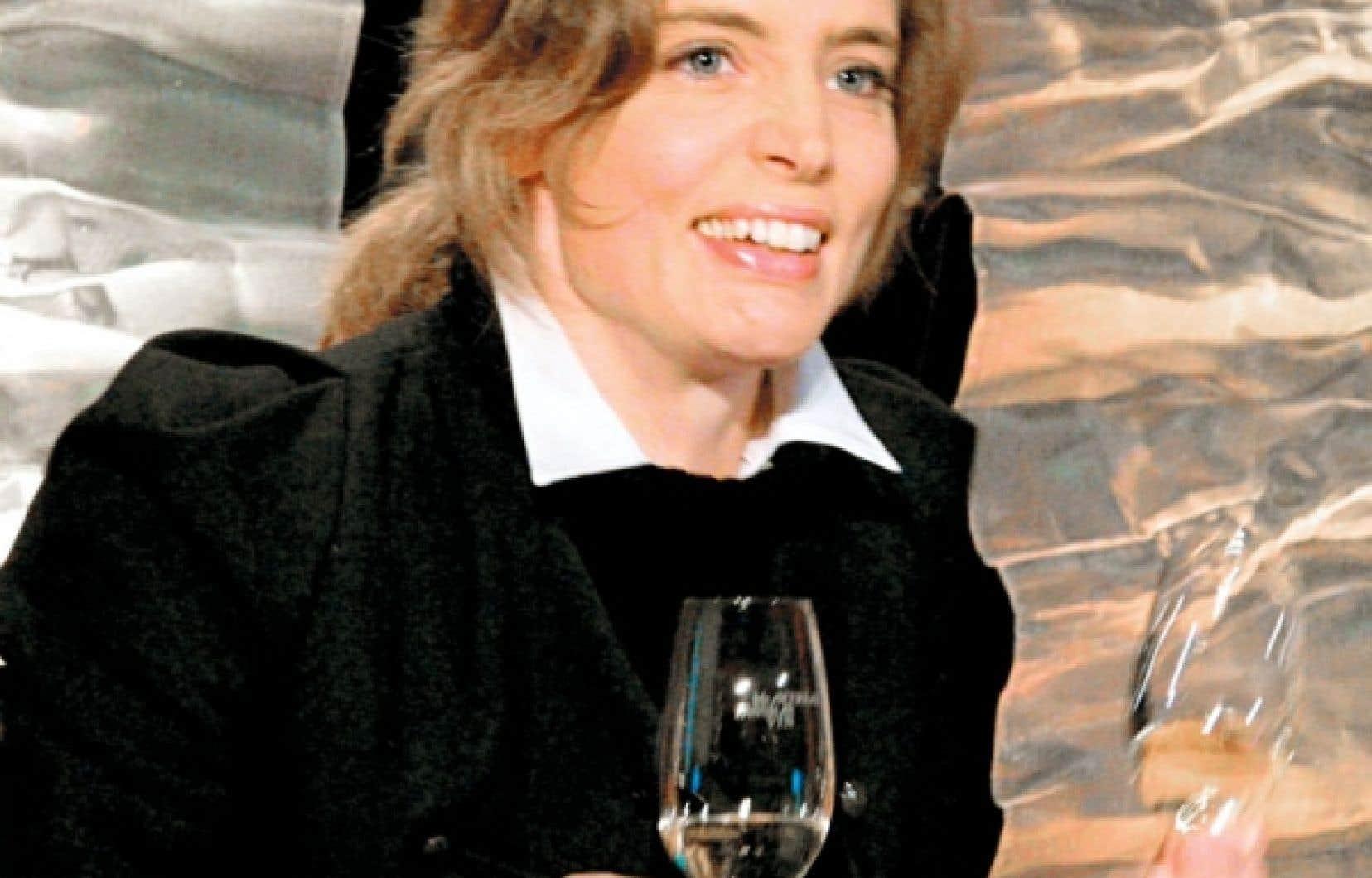 Vitalie Taittinger peut être fière des vins de la maison du même nom.