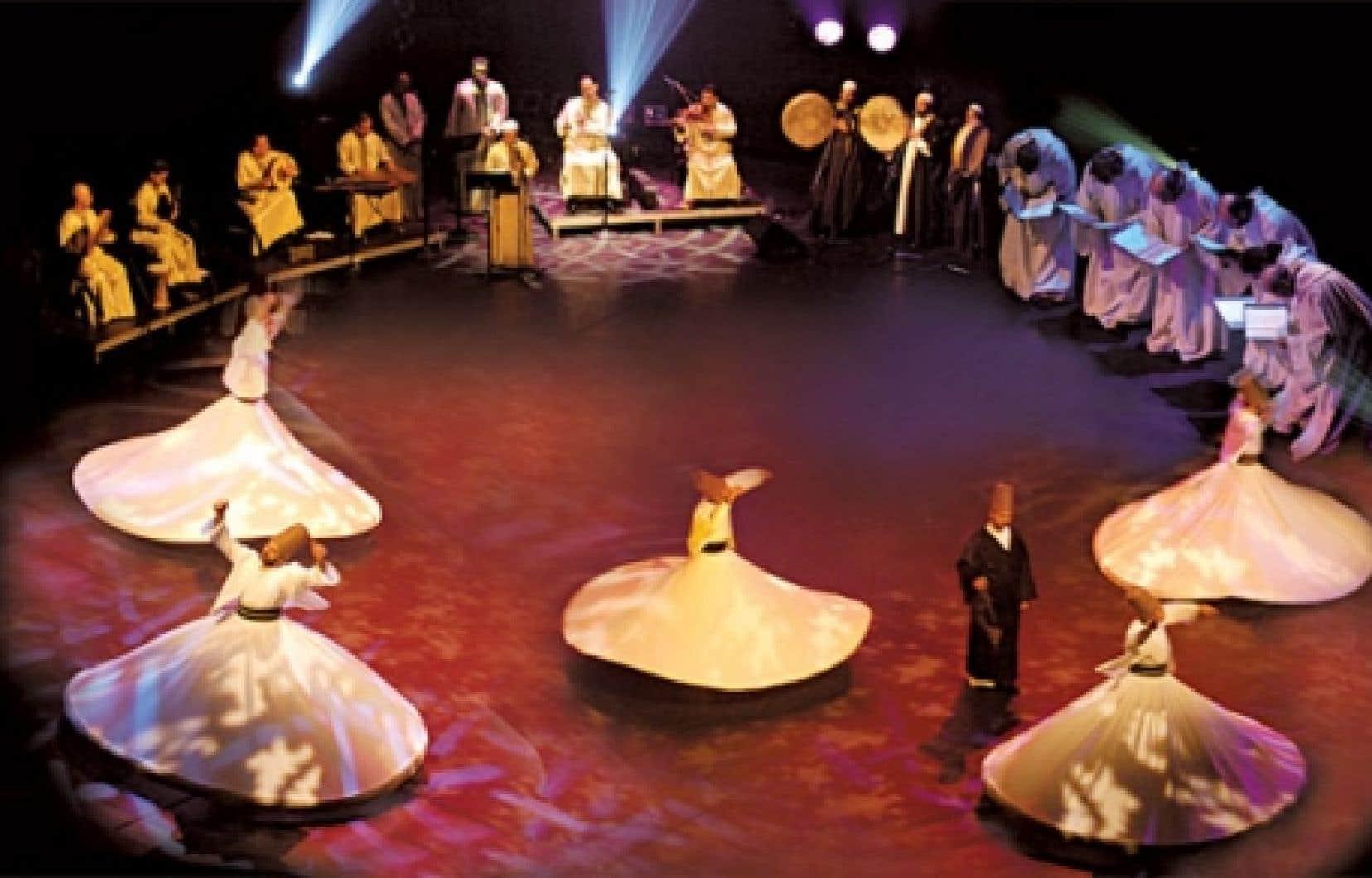 Le cercle de l'extase avec les Derviches tourneurs d'Alep au FMA en 2003